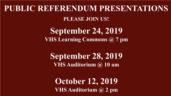 Join Us For Building A Better Verona Referendum Presentations