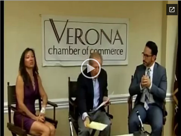 Verona Chamber of Commerce Interview with Superintendent Dionisio on VTV.