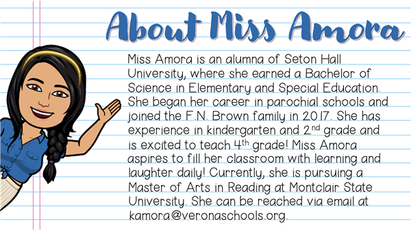 About Miss Amora