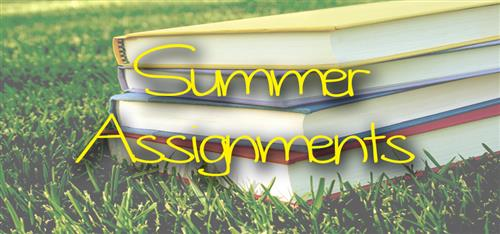 Summer Assignments (2018-19)